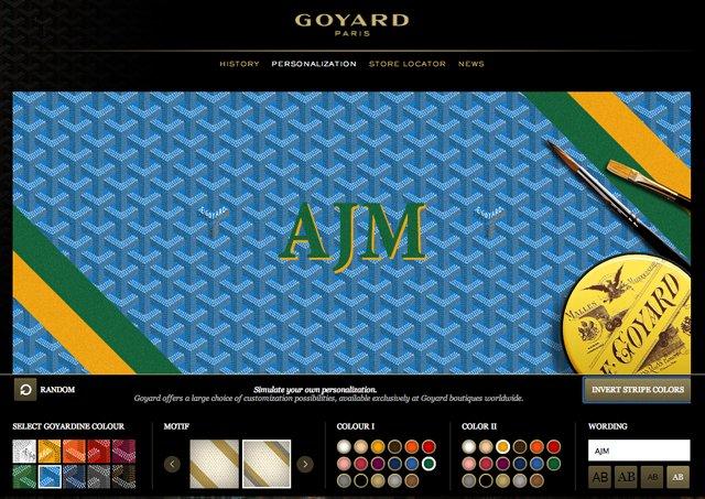 Goyard Customization
