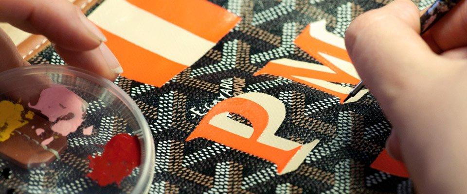 Goyard personalizacion bolsos