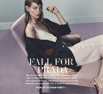 Net-A-Porter ecommerce-email