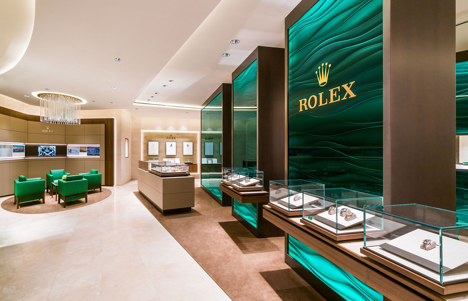 Rolex inaugura la mayor tienda de Singapur
