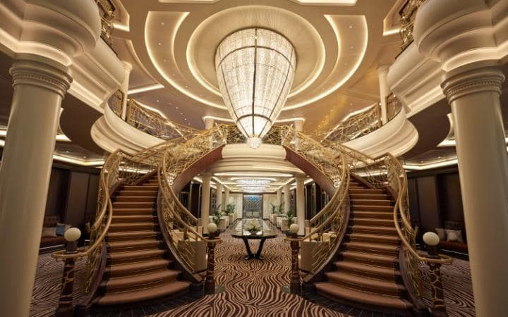 Seven Seas Explorer Stairs