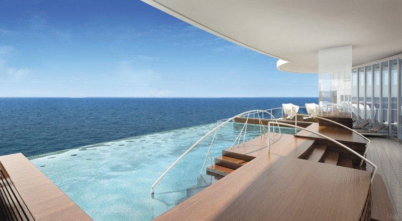 Seven Seas Infinity Pool