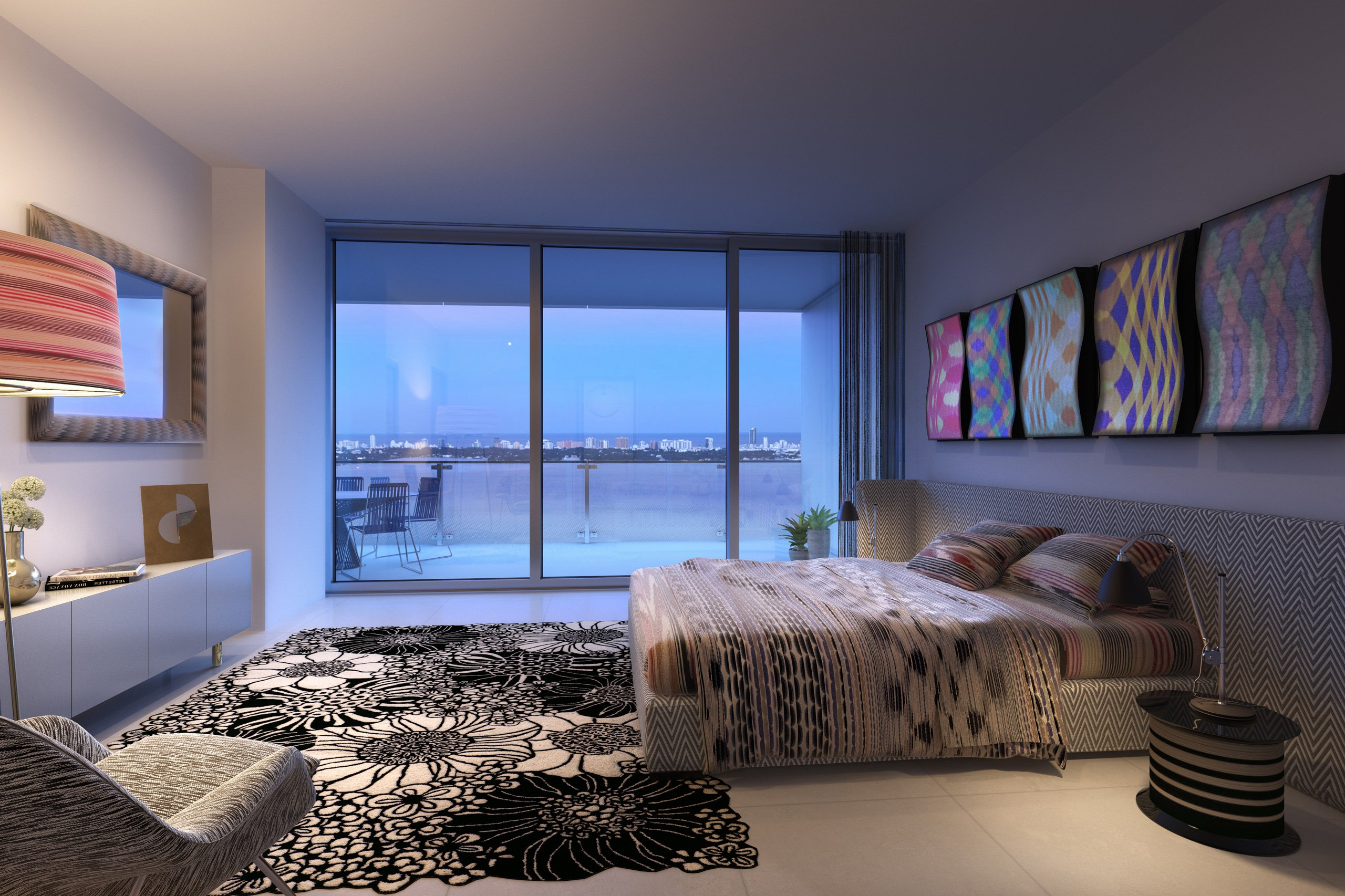 Missoni_Baia_Miami_dormitorio_colores_TheLuxury_Trends