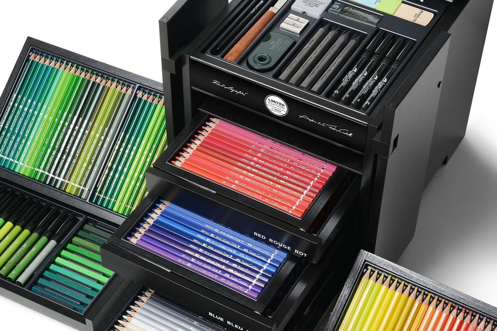 Karlbox_kit_dibujo_Lagerfeld_Faber_Castell_The_Luxury_Trends