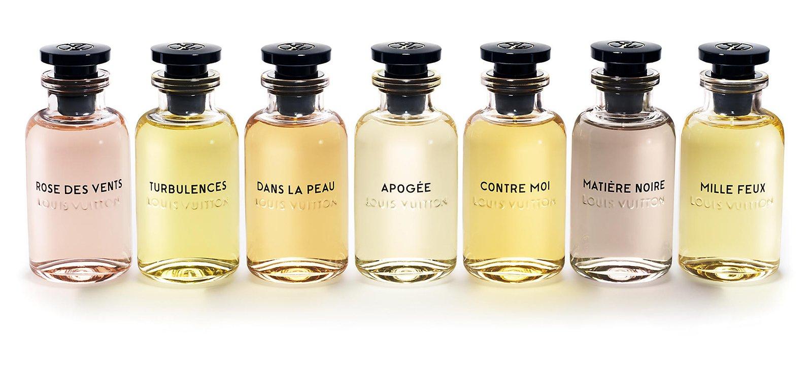 Les Parfums de Louis Vuitton, una colección de siete fragancias que son una oda a la feminidad