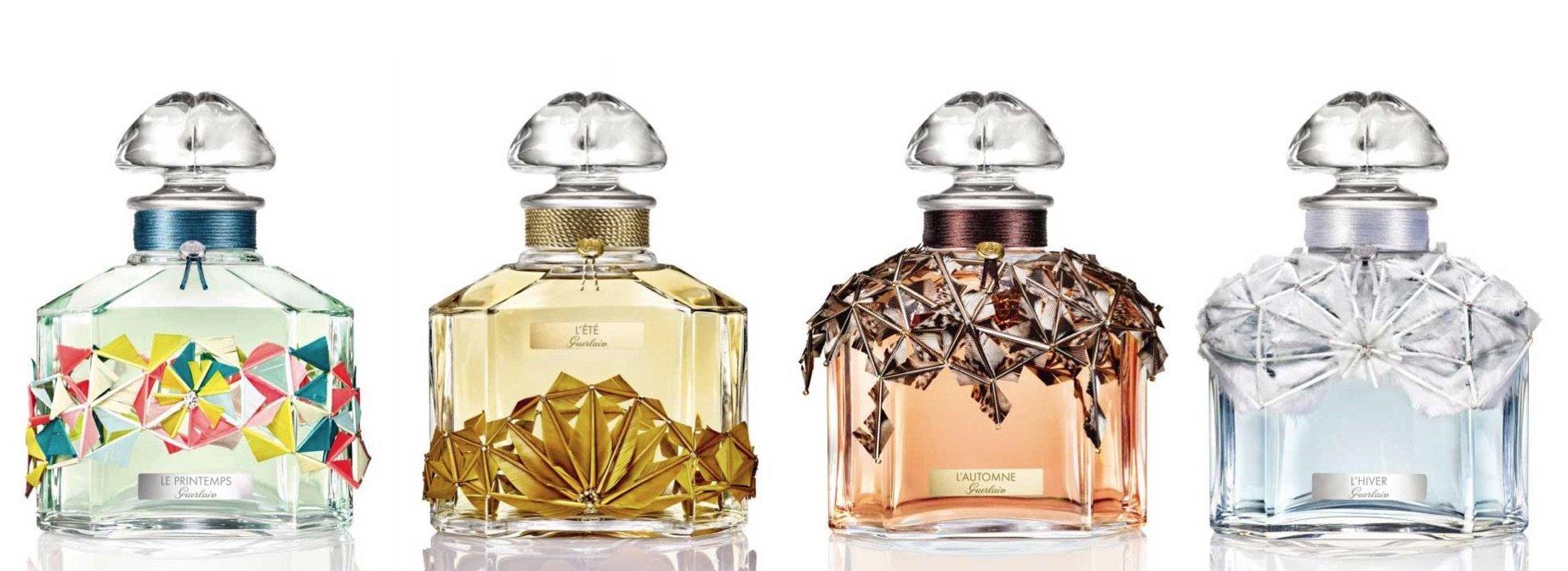 Guerlain crea una colección de fragancias inspiradas en las cuatro estaciones del año