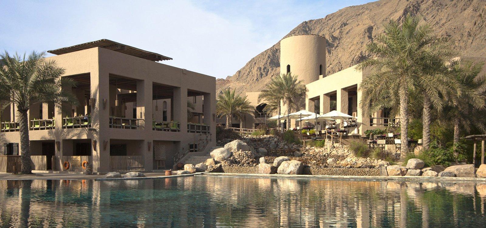 Six Senses Zighy Bay Resort, un oasis de relax paradisíaco en Oriente Medio
