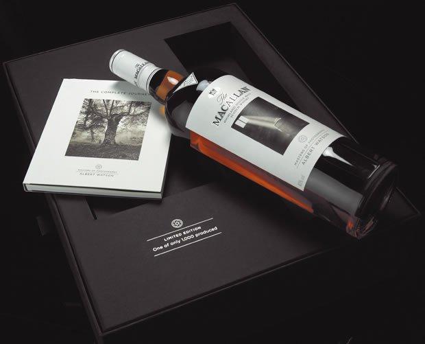 The Macallan crea una edición limitada, inspirada en la madera, de la mano del fotógrafo Albert Watson