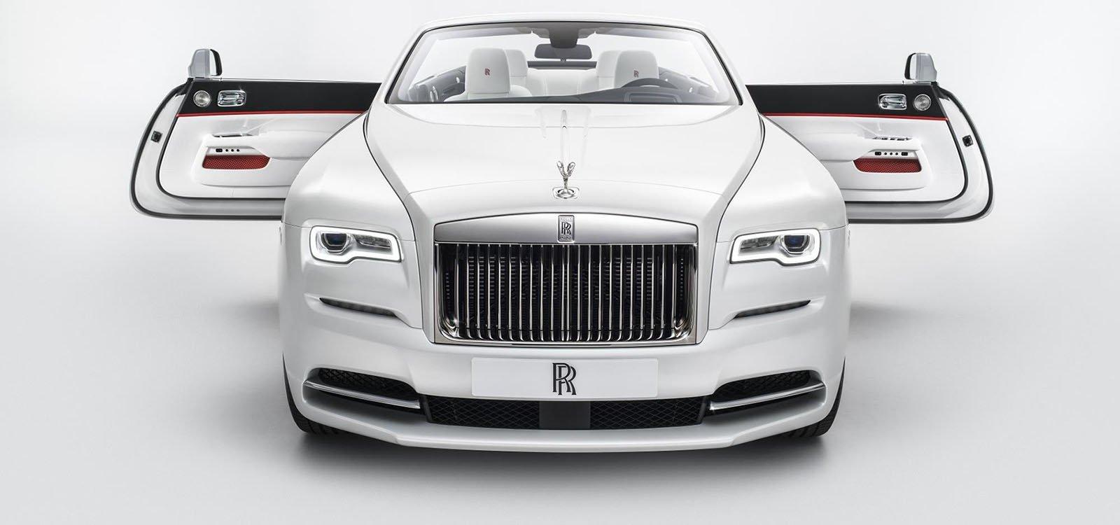 Rolls Royce Dawn 'Inspired by Fashion', un coche vestido de alta costura
