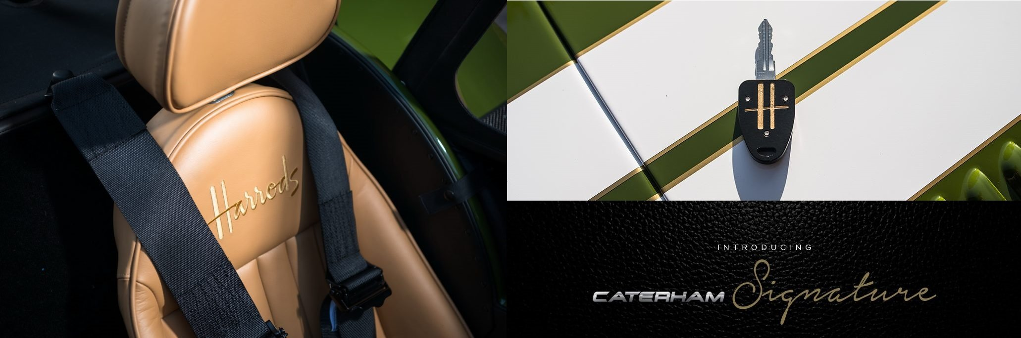 The Luxury Trends-Caterham-Harrods 2