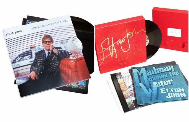 Burberry  diseña una caja recopilatoria de vinilos de Elton John