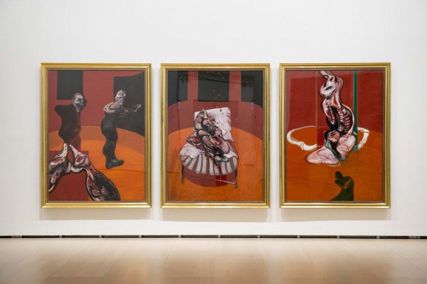 La influencia de la cultura francesa y española en Francis Bacon en el Guggenheim de Bilbao