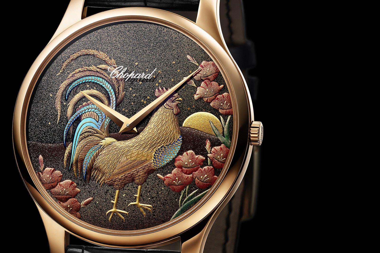 Chopard dedica un reloj al Año del Gallo chino