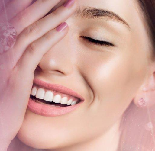 Polvos de diamante para un tratamiento de belleza de lujo