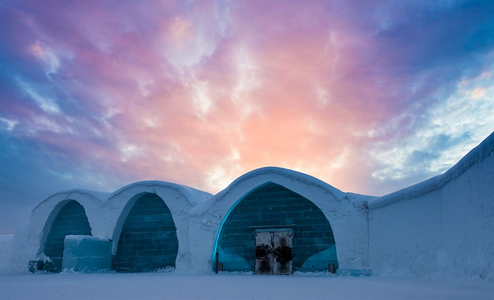 Icehotel, un alojamiento efímero bajo cero