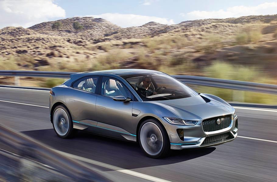 Jaguar I-Pace, el primer SUV de lujo completamente eléctrico de la casa