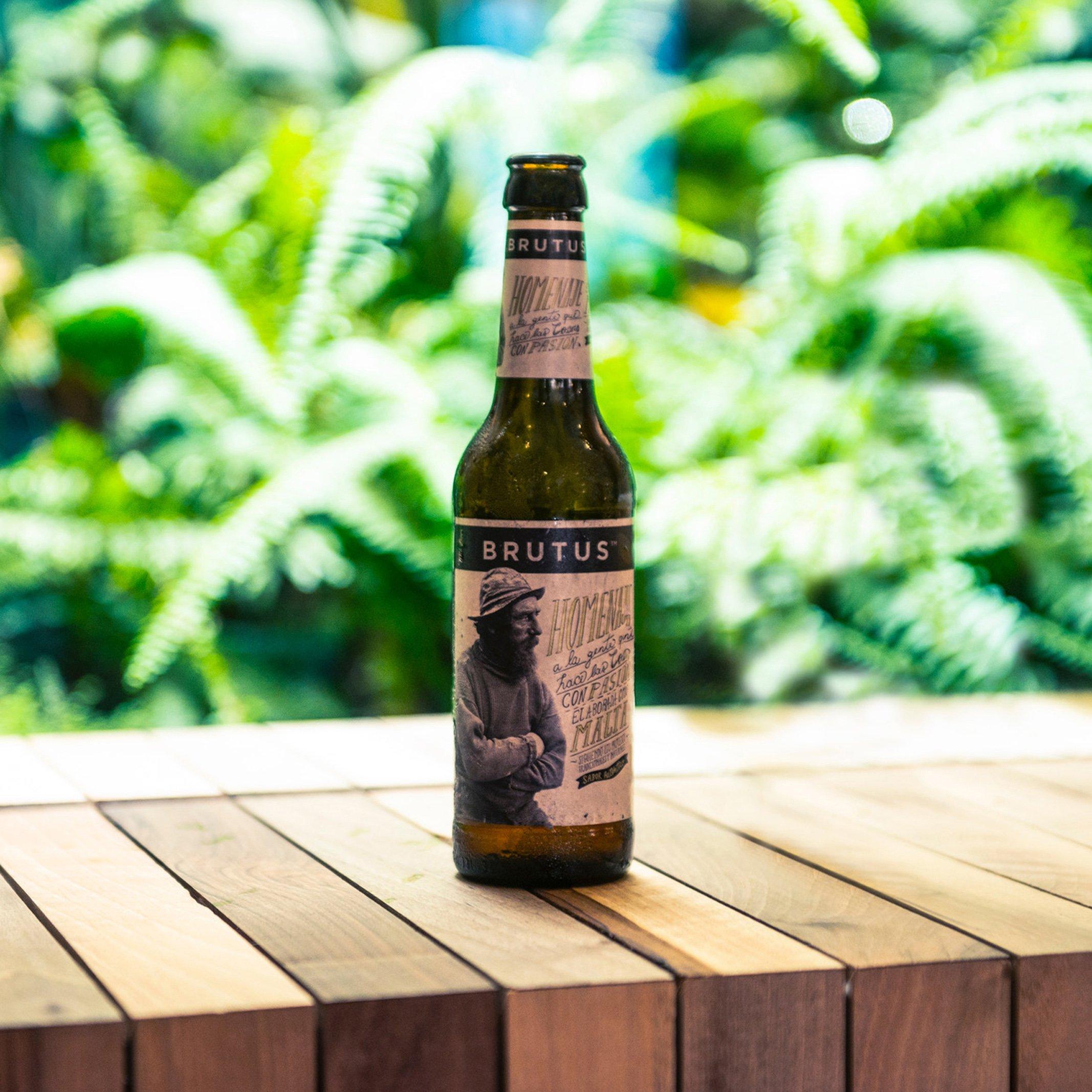Regala Brutus The Beer, la cerveza artesana que le sorprenderá