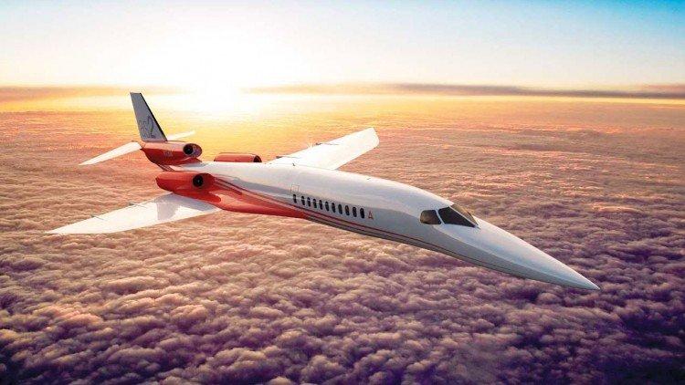 Aerion, el primer avión supersónico para ejecutivos