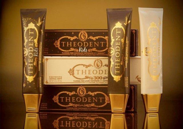 Theodent, el dentífrico más caro del mundo