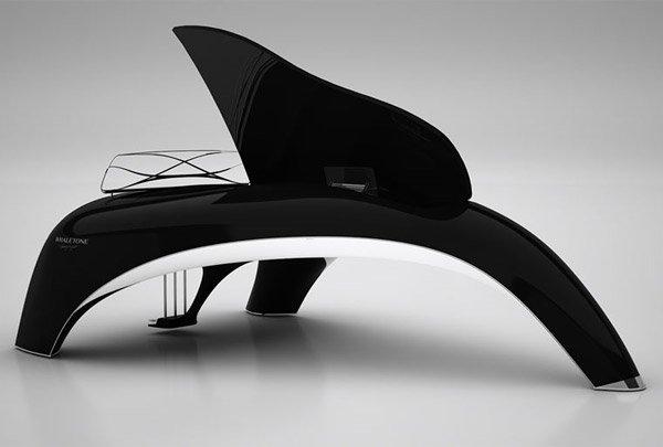 Whaletone, un piano digital que une tecnología y diseño