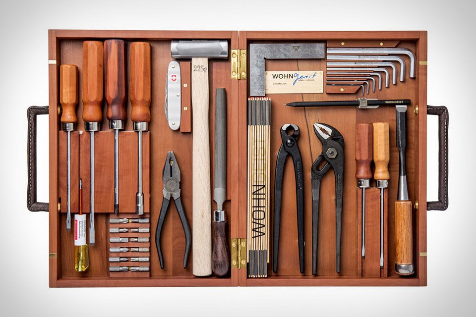Wohngeist, la caja de herramientas para los manitas más sibaritas