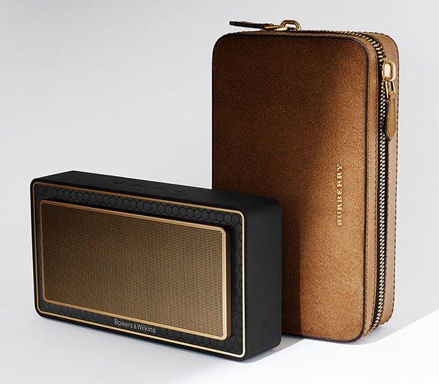 T7 Gold Edition, el altavoz inalámbrico con diseño de Burberry