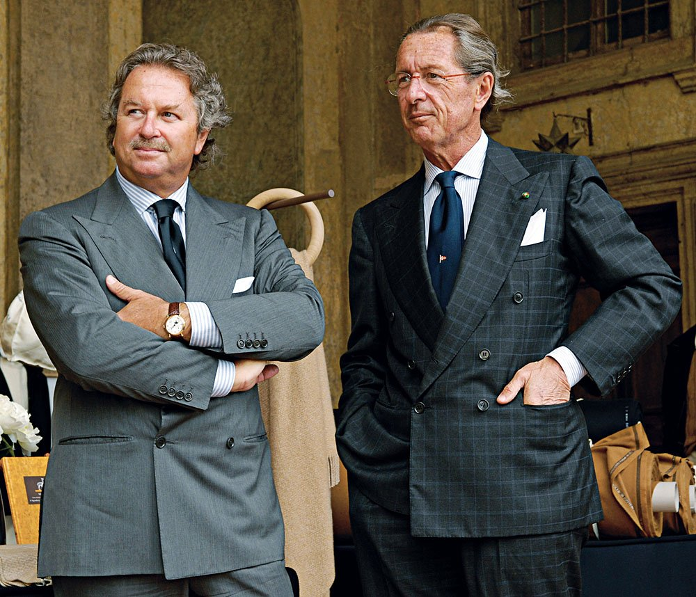 The Luxury Trends Magazine- Luigi y Sergio- Loro Piana