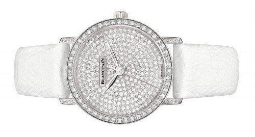 Blancpain Villeret Ultra Slim, una auténtica joya en relojería femenina