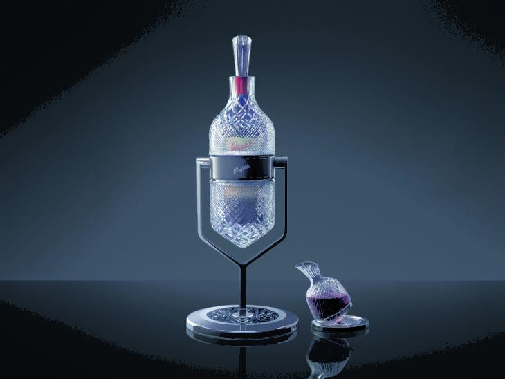Un decantador exclusivo para Grange, el vino más famosos de Australia