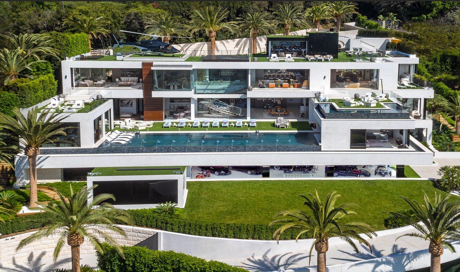 La casa más impresionante de Bel-Air