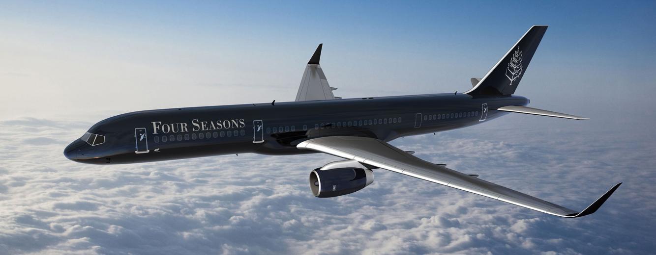 Four Seasons Jet Experience, cruceros aéreos de lujo