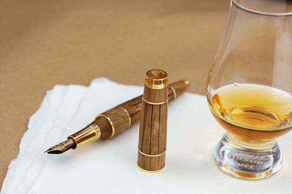 Montegrappa Cognac Pen, una estilográfica singular con el cognac más antiguo
