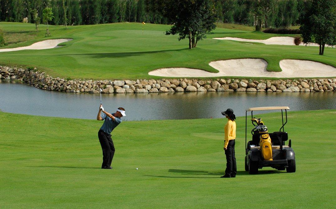 Golf en el paraíso: Tailandia