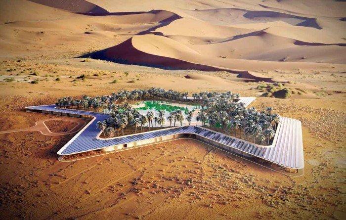 Oasis Eco resort, un rincón ecológico de lujo en mitad del desierto