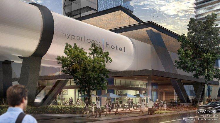 Hyperloop Hotel,  el transporte con alojamiento del futuro