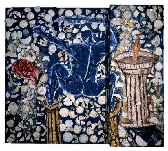 The-uxury-Trends-Julian-Schnabel-Blue-Nude-with-Sword
