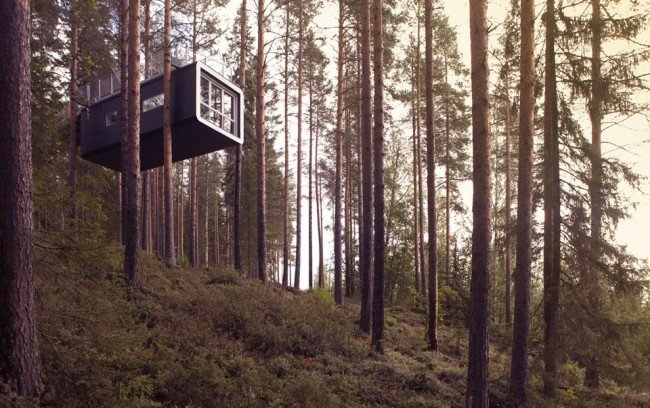 Treehotel-TheCabin-TheLuxuryTrends
