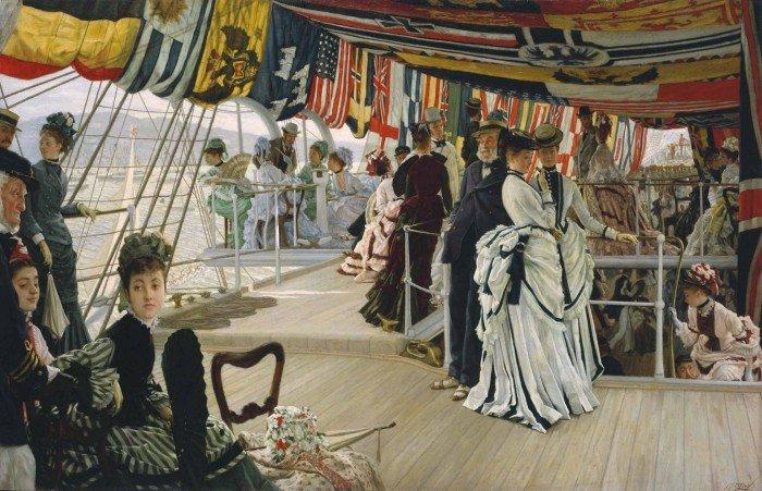 Arte francés en territorio inglés, el arte del exilio