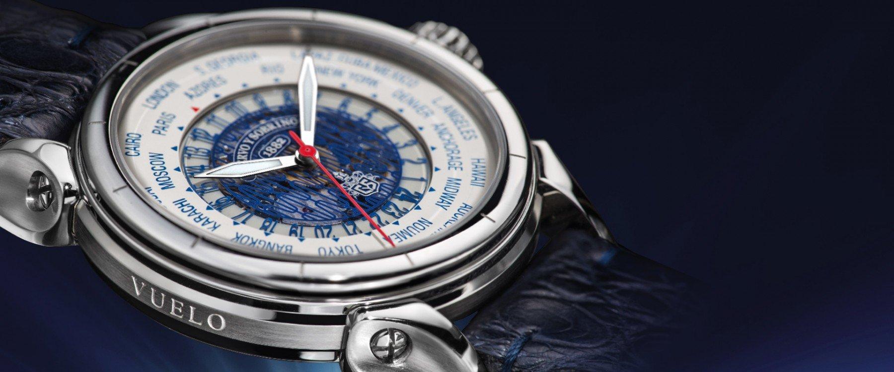 Cuervo y sobrinos, los relojes con manufactura suiza y espíritu cubano