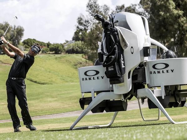 BW-Air, el buggy de golf que vuela