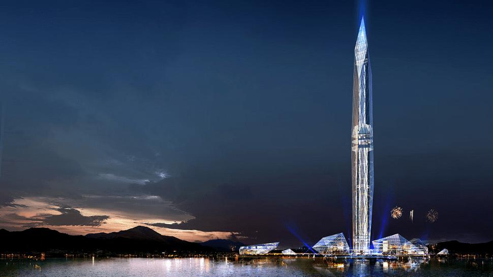 """Tower Infinity, el edificio """"invisible"""""""