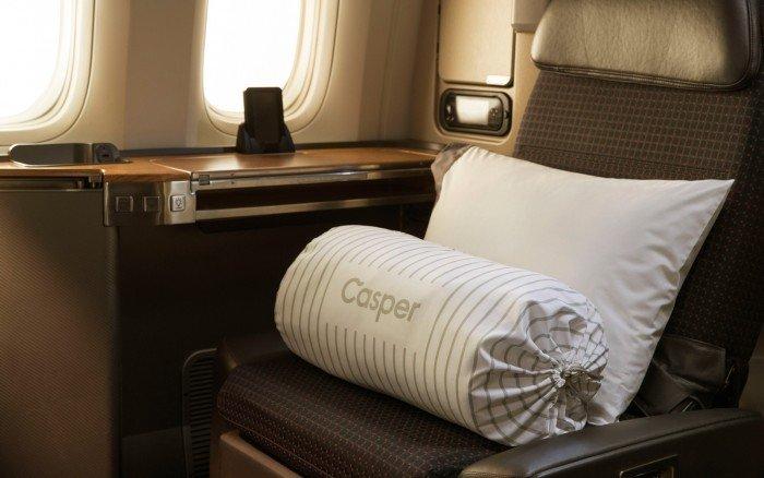 Almohadas y edredones de altos vuelos