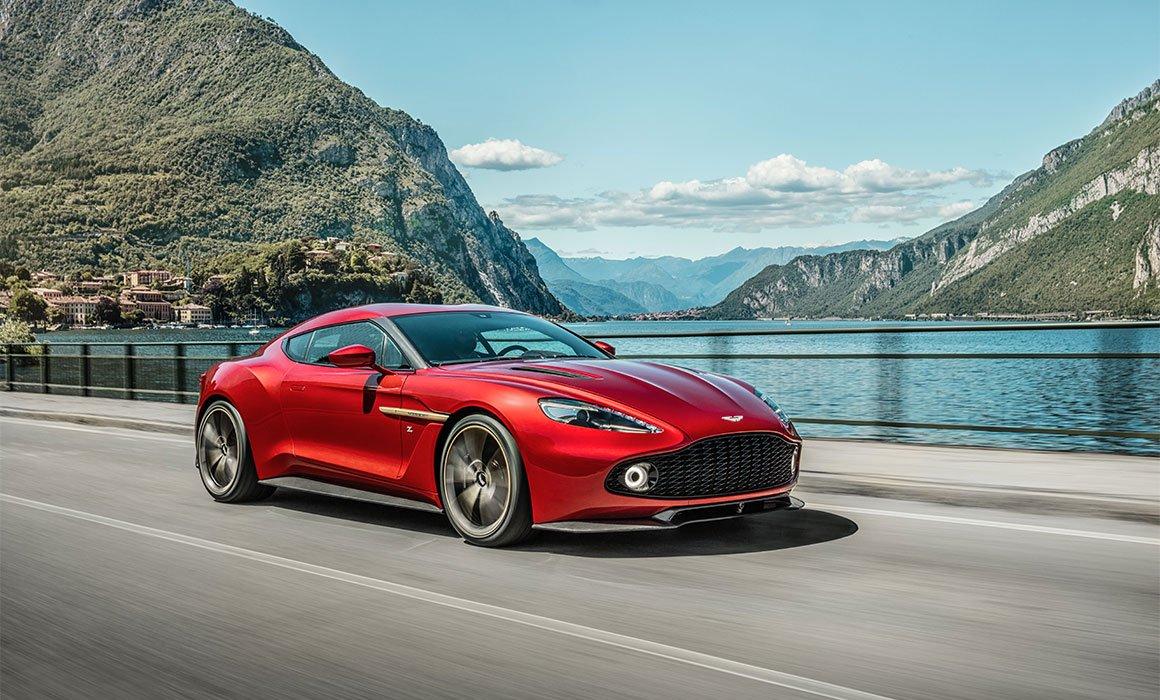Aston Martin Vanquish Zagato, lujo a medida en estado puro