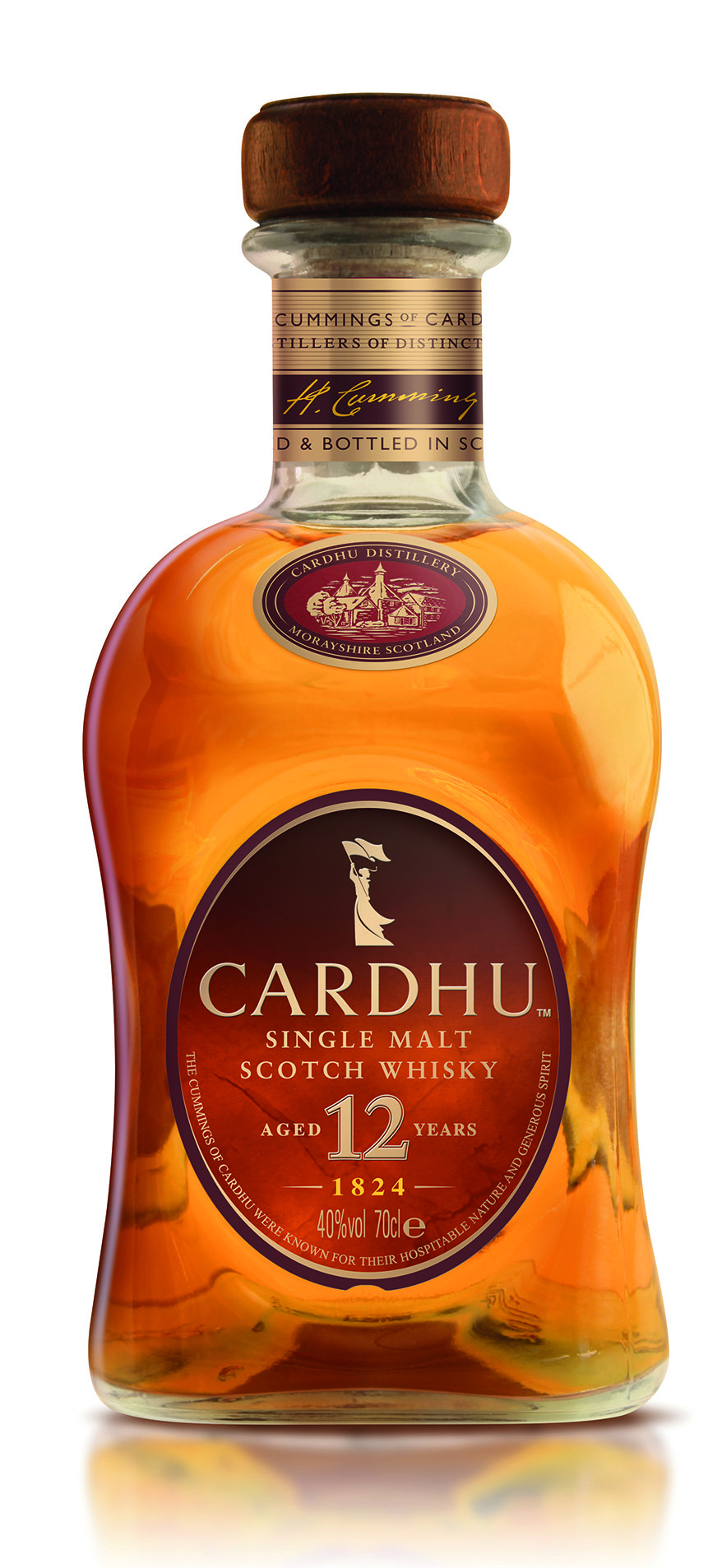 CARDHU 12 New Bottle