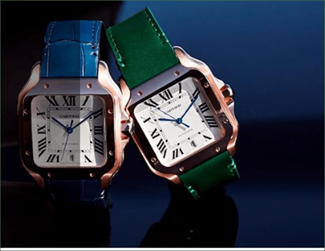 Cartier-Santos-correas-colores-TheLuxuryTrends