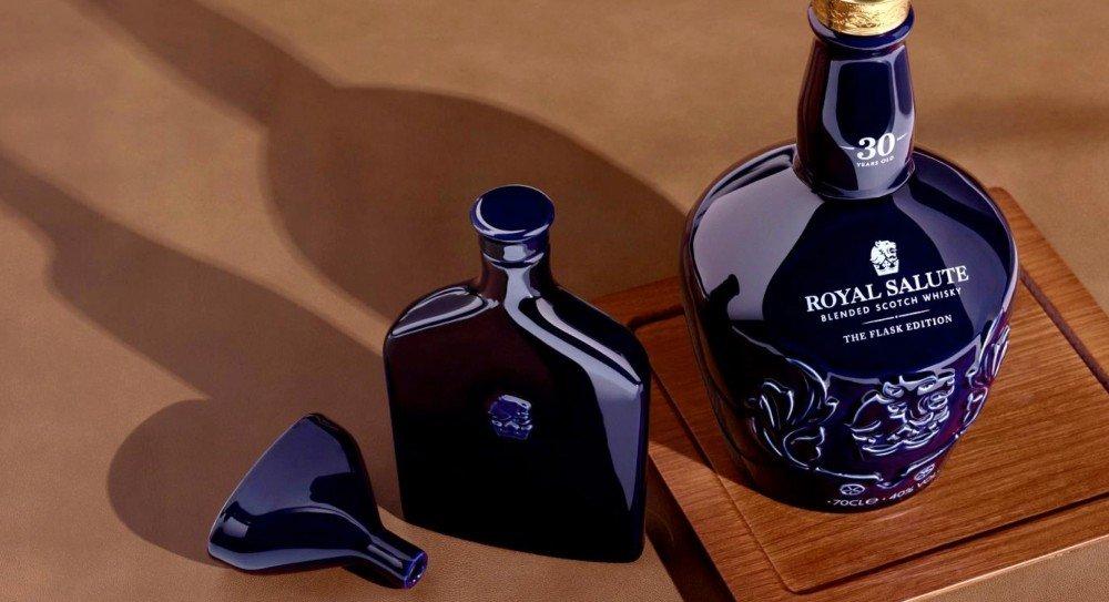 Royal Salute 30 Years Old The Flask Edition: Coleccionismo, arte, diseño y el mejor whisky.