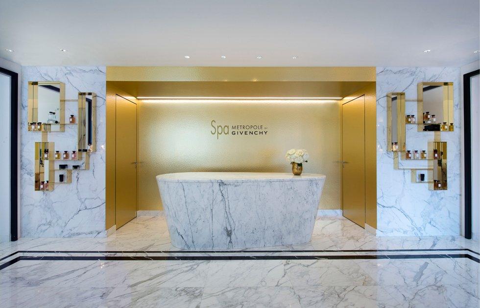 Spa Metropole by Givenchy, donde belleza y glamour van de la mano