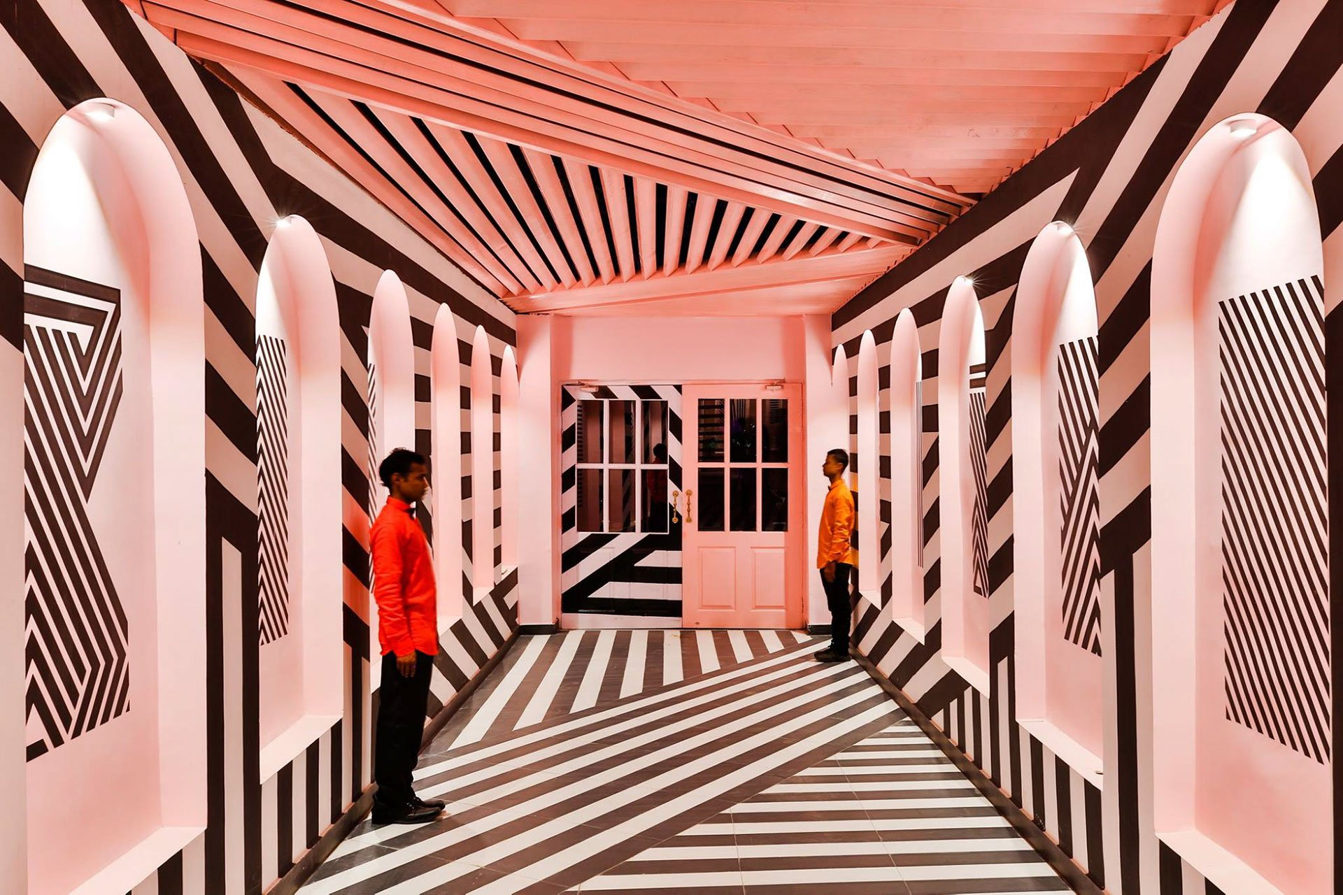 The Pink Zebra, el restaurante inspirado en las películas de Wes Anderson