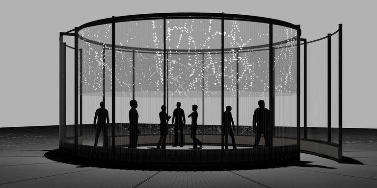 HALO, la nueva instalación inmersiva presentada por Audemars Piguet en Art Basel
