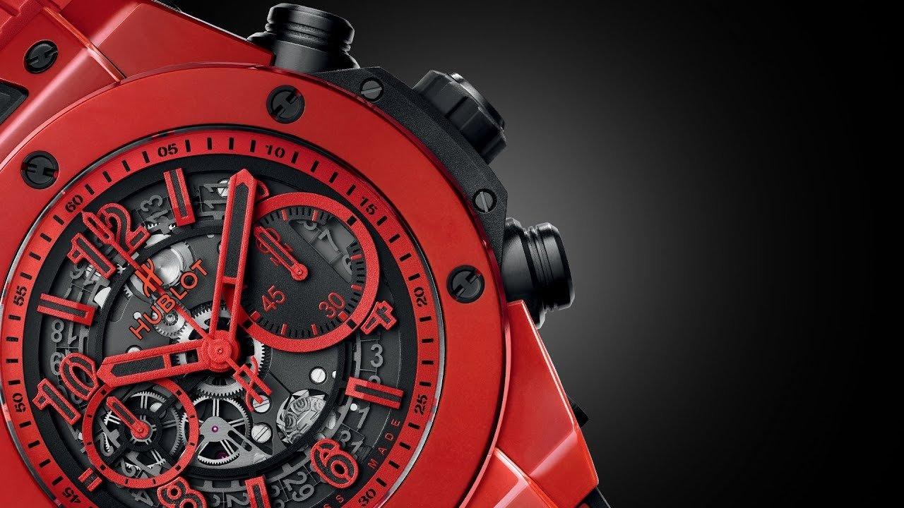 Hublot-reloj-ceramica-rojo-TheLuxuryTrends